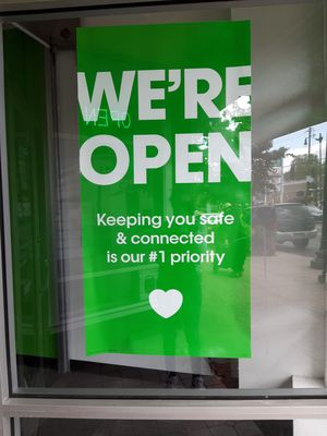 We are still open for Sale in Washington, DC
