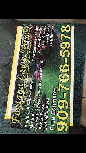 Sistema de sprinklers & landscape for Sale in Fontana, CA