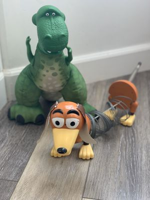 Toy Story Dolls Action Figures - Rex & Slinky for Sale in San Jose, CA