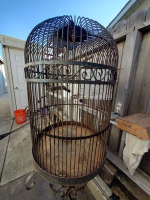 Bird Cage - Big - needs paint for Sale in San Lorenzo, CA