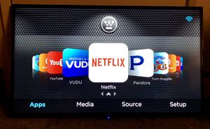 42' Westinghouse 2160p 4K 120hz LED Smart TV w/remote for Sale in San Leandro, CA
