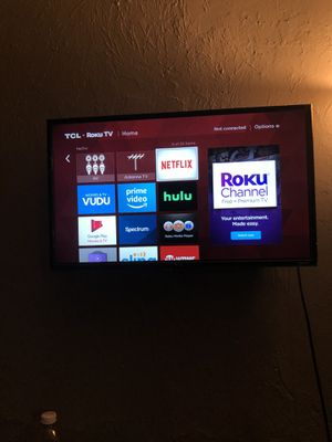 TCL roku TV for Sale in Cambridge, MA
