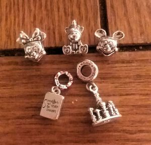 Pandora Disney Five Piece Charm Bundle for Sale in Kent, WA