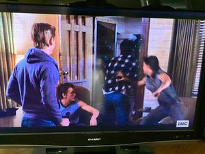 """46"""" Sharp LCD Big Screen TV. See Description. for Sale in West Covina, CA"""