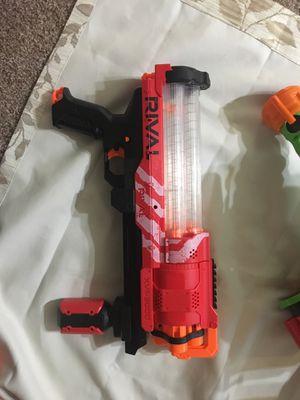 Nerf rival gun for Sale in Nashville, TN