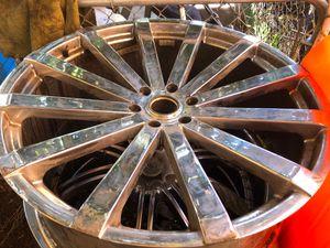 26 inch wheel for Escalade Chevy Tahoe Yukon Silverado for Sale in Inglewood, CA