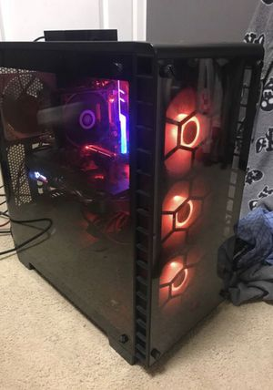 I5 8600k and rx 580 8gb pc for Sale in Snohomish, WA