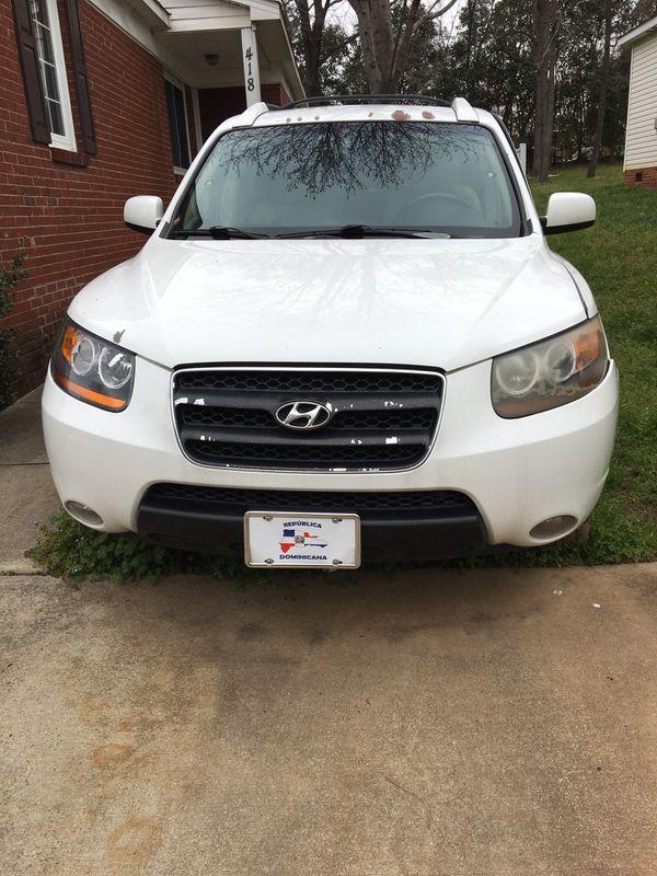 2007 Hyundai Santa Fa (parts)