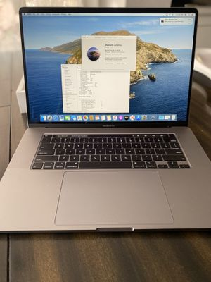 """New 2019 16"""" MacBook Pro i7/16/512GB 2 AppleCare 2023 for Sale in San Diego, CA"""