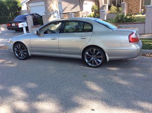 2020 Infiniti Q60s 20inch OEM sport rims/wheels tires staggered setup (1 week old) for Sale in Simi Valley, CA