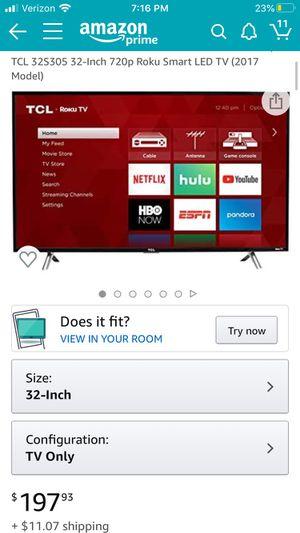 Smart tv 32 in for Sale in La Jolla, CA