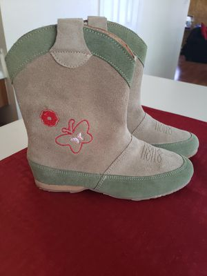 Girls Suede Boots- Made in Mexico for Sale in Austin, TX