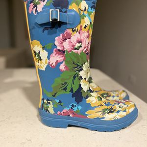 Joules Floral Rain Boots - Fit 8 for Sale in Dallas, TX