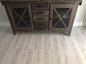 Rustic farmhouse Tv stand for Sale in Fort Myers, FL