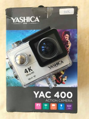 New Action Mini travel Camera with Wi-Fi, Yashica YAC-400 - Silver (4K 10FPS, 1080p 60FPS) for Sale in San Francisco, CA