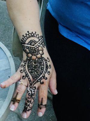 Beautiful henna design for Sale in Cheltenham, PA