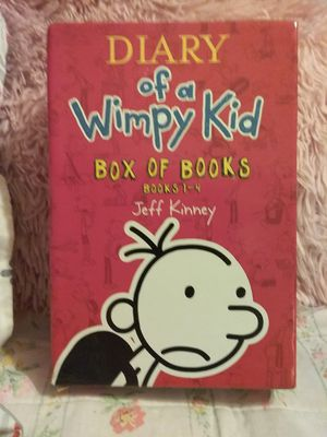Diary of Wimpy Kid Book Set ( books 1-4 ) for Sale in Findlay, OH