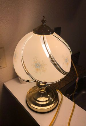 Vintage 16 inch Glass Touch Lamp for Sale in Stockton, CA