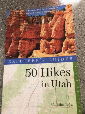 50 Hikes in Utah Book for Sale in West Point, UT