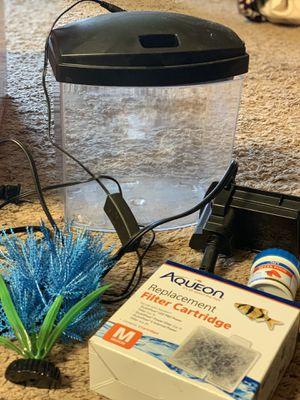 aquarium + filter+ food for Sale in Wichita, KS