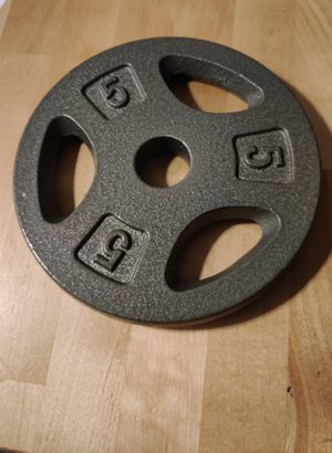 2 Pair of 5lbs weights for Sale in NEW CARROLLTN, MD