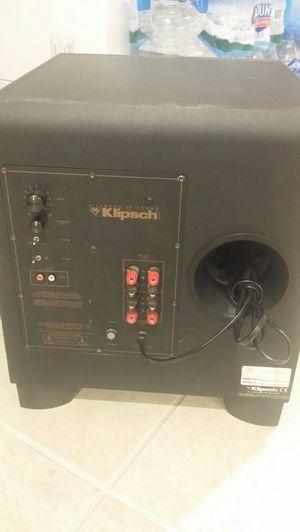 Klipsch subwoofer 12in for Sale in Carol Stream, IL