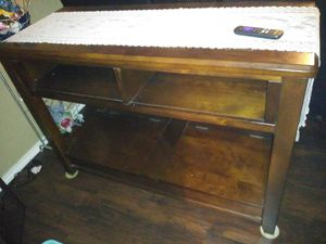 Wooden TV console for Sale in Mercedes, TX