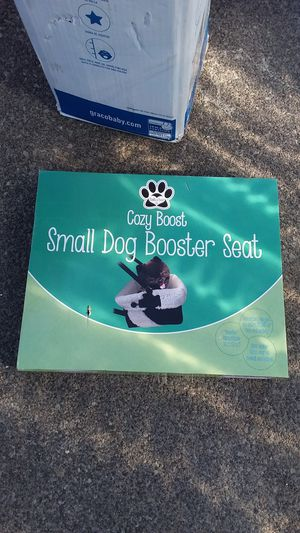 CROZY BOOST small dog Booster New inbox open Nuevo en caja abierta location Bonanza 14th for Sale in Las Vegas, NV