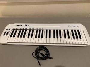 Carbon 49 MIDI Keyboard for Sale in Seattle, WA