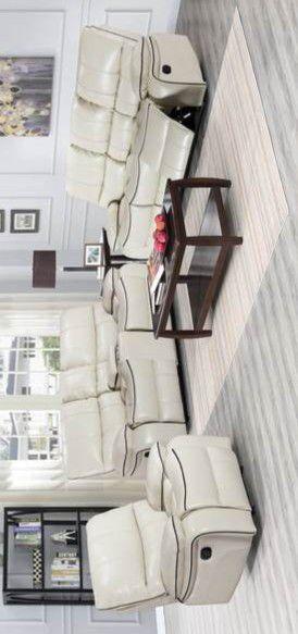 ESPECIAL] Santa Clara Blanco 3-Piece Reclining Sala Set for Sale in Pflugerville, TX