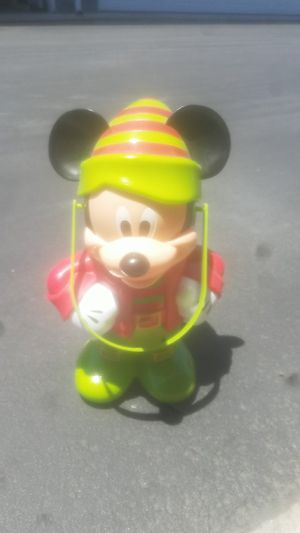 Vintage mickey mouse popcorn bucket for Sale in Garden Grove, CA