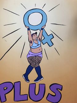 Comic / Zine- Body positive drawings by Tatianna Gill brand new for Sale in Portland,  OR