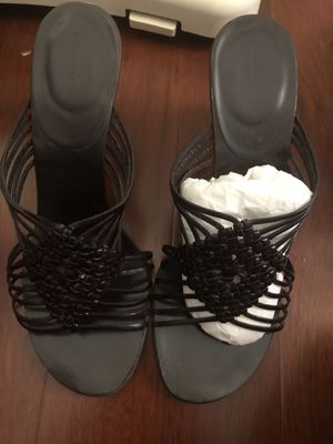 Black banana republic wedge sandals for Sale in Irvine, CA