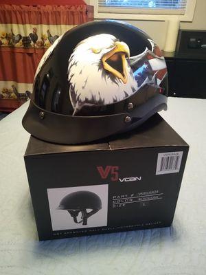 New half helmet sz lrg eagle for Sale in Canton, OH