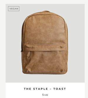 Vegan leather backpack for Sale in Denton, TX