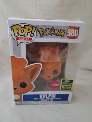 Pokemon Funko Pop! Flocked Vulpix Flocked SDCC 2020 Shared Exclusive 580 for Sale in Los Angeles, CA