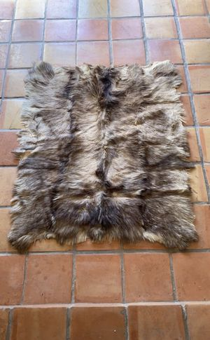 Wolf skin wall hanging for Sale in Marina del Rey, CA