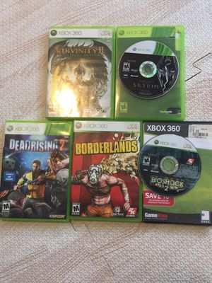 Xbox 360 games for Sale in Kissimmee, FL