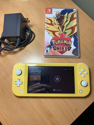 Nintendo Switch Lite & Pokémon Shield for Sale in Malden, MA