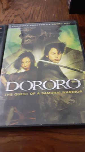 Delta farce & snakes on a plane & Dororo dvd for Sale in Grand Saline, TX