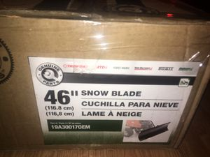 "Genuine Parts 46"" Snow Blade for Sale in Orlando, FL"