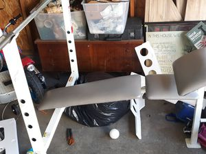 Weight bench for Sale in Columbus, OH