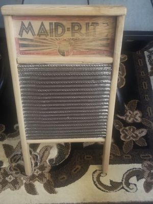 Old washboard for Sale in Oklahoma City, OK