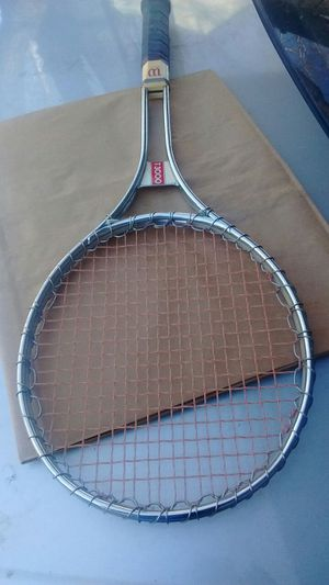 1970 Wilson Chrome T3000 Vintage Tennis Racket for Sale in Capitol Heights, MD