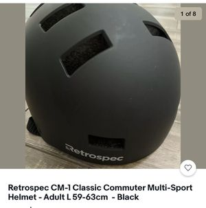 Retrospec CM-1 Classic Commuter Multi-Sport Helmet - Adult L 59-63cm - Black for Sale in Gilbert, AZ