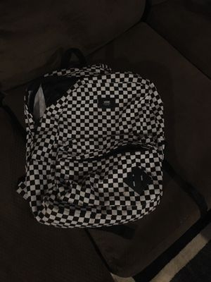 Vans checkerboard black and white backpack for Sale in Northfield, OH