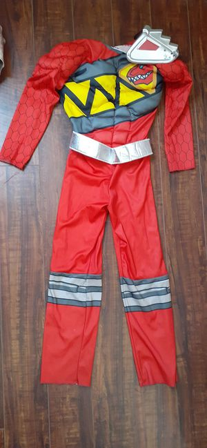 $5 Kids Power Ranger Costume Size 4 - 6 for Sale in Hemet, CA