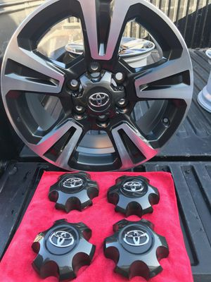 """Toyota Tacoma rims TRD sport size 17"""" for Sale in Mission Viejo, CA"""