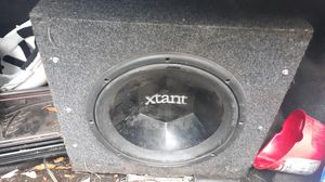 Xtant 12 and kicker amp for Sale in New Port Richey, FL