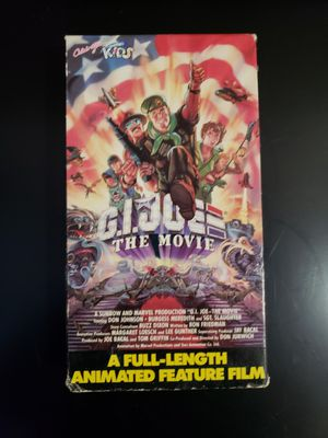 G.I. Joe: The Movie (VHS, 1987) for Sale in Pembroke Pines, FL